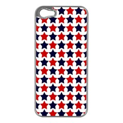 Patriot Stars Apple Iphone 5 Case (silver) by StuffOrSomething