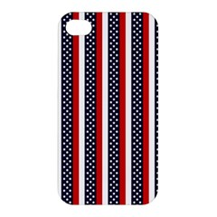 Patriot Stripes Apple Iphone 4/4s Hardshell Case by StuffOrSomething