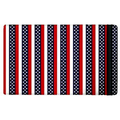 Patriot Stripes Apple Ipad 3/4 Flip Case by StuffOrSomething