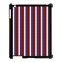 Patriot Stripes Apple Ipad 3/4 Case (black) by StuffOrSomething
