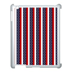 Patriot Stripes Apple Ipad 3/4 Case (white) by StuffOrSomething