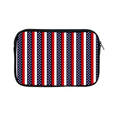 Patriot Stripes Apple Ipad Mini Zippered Sleeve by StuffOrSomething