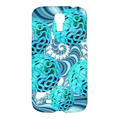 Teal Sea Forest, Abstract Underwater Ocean Samsung Galaxy S4 I9500/i9505 Hardshell Case by DianeClancy