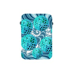 Teal Sea Forest, Abstract Underwater Ocean Apple Ipad Mini Protective Sleeve by DianeClancy