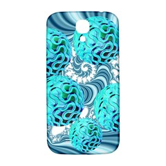 Teal Sea Forest, Abstract Underwater Ocean Samsung Galaxy S4 I9500/i9505  Hardshell Back Case by DianeClancy
