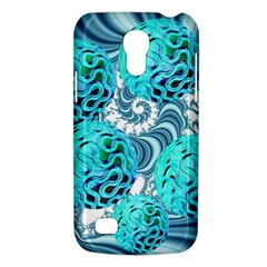 Teal Sea Forest, Abstract Underwater Ocean Samsung Galaxy S4 Mini (gt I9190) Hardshell Case  by DianeClancy