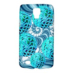 Teal Sea Forest, Abstract Underwater Ocean Samsung Galaxy S4 Active (i9295) Hardshell Case by DianeClancy