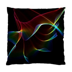 Imagine, Through The Abstract Rainbow Veil Cushion Case (single Sided)  by DianeClancy
