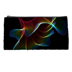Imagine, Through The Abstract Rainbow Veil Pencil Case by DianeClancy