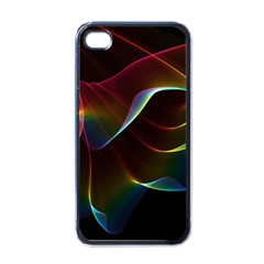 Imagine, Through The Abstract Rainbow Veil Apple Iphone 4 Case (black) by DianeClancy
