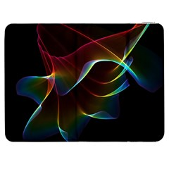 Imagine, Through The Abstract Rainbow Veil Samsung Galaxy Tab 7  P1000 Flip Case by DianeClancy