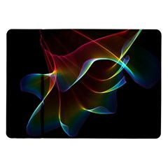Imagine, Through The Abstract Rainbow Veil Samsung Galaxy Tab 10 1  P7500 Flip Case by DianeClancy