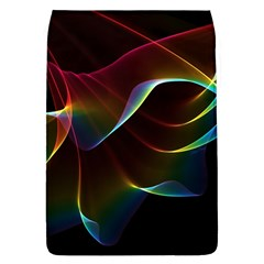 Imagine, Through The Abstract Rainbow Veil Removable Flap Cover (large) by DianeClancy