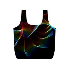 Imagine, Through The Abstract Rainbow Veil Reusable Bag (s) by DianeClancy