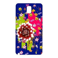 Flower Bunch Samsung Galaxy Note 3 N9005 Hardshell Back Case by Rbrendes