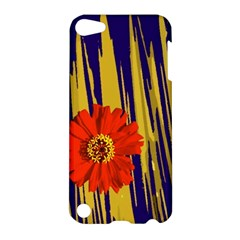 Red Flower Apple Ipod Touch 5 Hardshell Case by Rbrendes