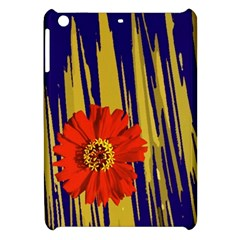 Red Flower Apple Ipad Mini Hardshell Case by Rbrendes