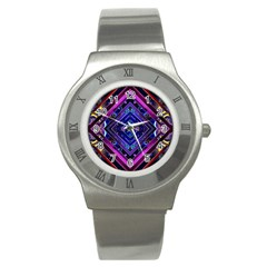 Galaxy Stainless Steel Watch (slim)