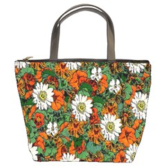 Flowers Bucket Handbag by Rbrendes