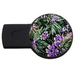 Garden Greens 2gb Usb Flash Drive (round) by Rbrendes