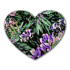 Garden Greens Mouse Pad (heart)