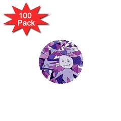 Fms Confusion 1  Mini Button Magnet (100 Pack) by FunWithFibro