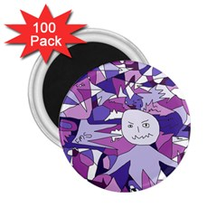 Fms Confusion 2 25  Button Magnet (100 Pack) by FunWithFibro