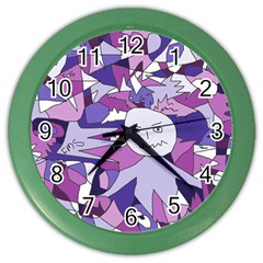 Fms Confusion Wall Clock (color)