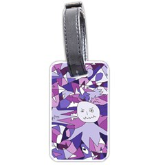 Fms Confusion Luggage Tag (two Sides) by FunWithFibro