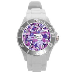 Fms Confusion Plastic Sport Watch (large) by FunWithFibro
