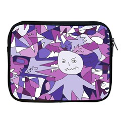 Fms Confusion Apple Ipad Zippered Sleeve by FunWithFibro