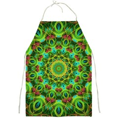 Peacock Feathers Mandala Apron by Zandiepants