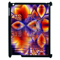 Winter Crystal Palace, Abstract Cosmic Dream Apple Ipad 2 Case (black)