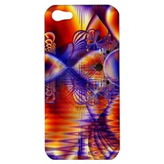 Winter Crystal Palace, Abstract Cosmic Dream Apple Iphone 5 Hardshell Case