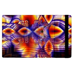 Winter Crystal Palace, Abstract Cosmic Dream Apple Ipad 2 Flip Case by DianeClancy
