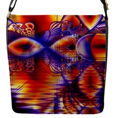 Winter Crystal Palace, Abstract Cosmic Dream Removable Flap Cover (small) by DianeClancy