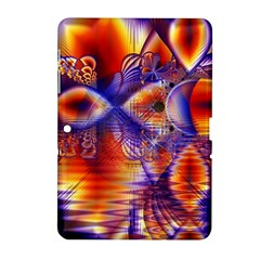 Winter Crystal Palace, Abstract Cosmic Dream Samsung Galaxy Tab 2 (10 1 ) P5100 Hardshell Case  by DianeClancy