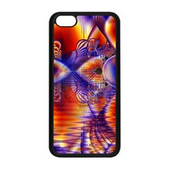 Winter Crystal Palace, Abstract Cosmic Dream Apple Iphone 5c Seamless Case (black)