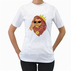 Lion King Women s T Shirt (white)