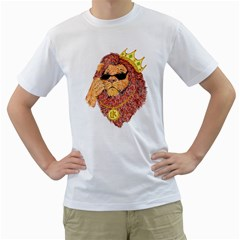 Lion King Men s T Shirt (white)