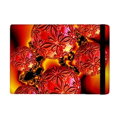 Flame Delights, Abstract Red Orange Apple Ipad Mini Flip Case by DianeClancy