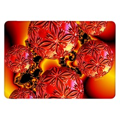 Flame Delights, Abstract Red Orange Samsung Galaxy Tab 8 9  P7300 Flip Case by DianeClancy