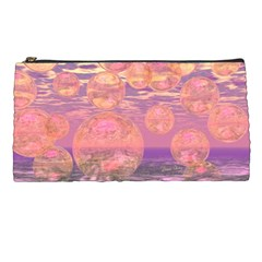 Glorious Skies, Abstract Pink And Yellow Dream Pencil Case by DianeClancy
