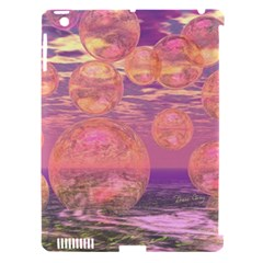 Glorious Skies, Abstract Pink And Yellow Dream Apple Ipad 3/4 Hardshell Case (compatible With Smart Cover) by DianeClancy