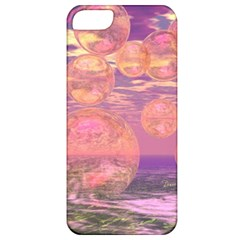 Glorious Skies, Abstract Pink And Yellow Dream Apple Iphone 5 Classic Hardshell Case by DianeClancy