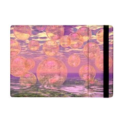 Glorious Skies, Abstract Pink And Yellow Dream Apple Ipad Mini Flip Case by DianeClancy