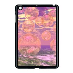 Glorious Skies, Abstract Pink And Yellow Dream Apple Ipad Mini Case (black) by DianeClancy