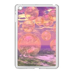Glorious Skies, Abstract Pink And Yellow Dream Apple Ipad Mini Case (white) by DianeClancy
