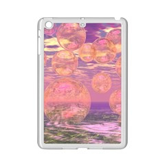Glorious Skies, Abstract Pink And Yellow Dream Apple Ipad Mini 2 Case (white) by DianeClancy