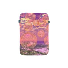 Glorious Skies, Abstract Pink And Yellow Dream Apple Ipad Mini Protective Sleeve by DianeClancy